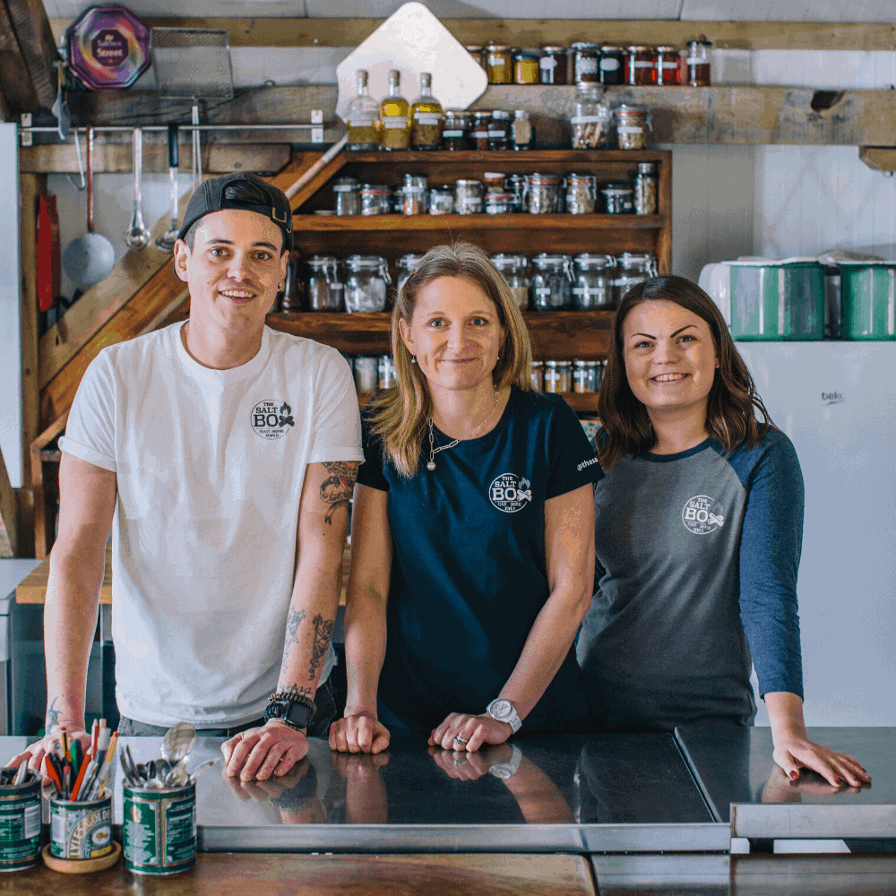 Meet the team at The Salt Box
