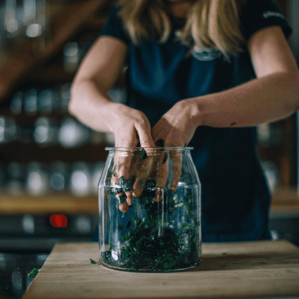 Lacto Fermented Wild Garlic Recipe