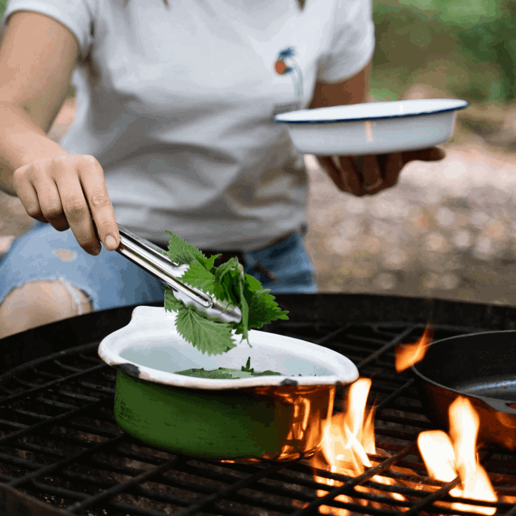 online cooking over fire course
