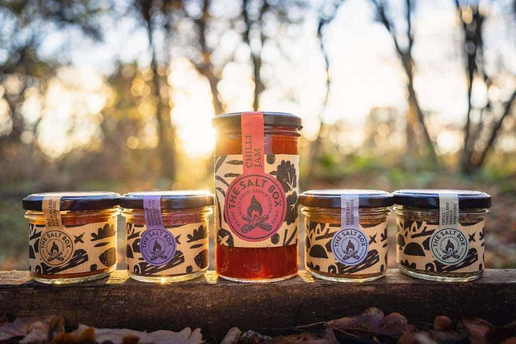 seasoning set and chilli jam