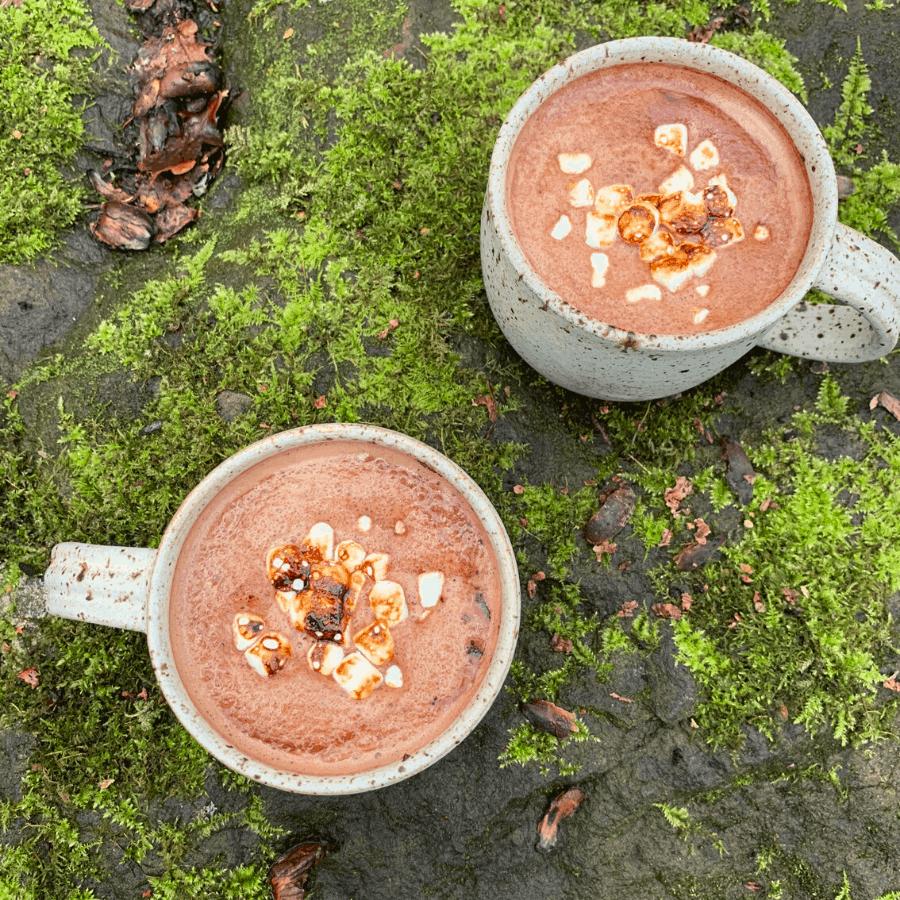 hot chocolate, marshmallows, winter drinks