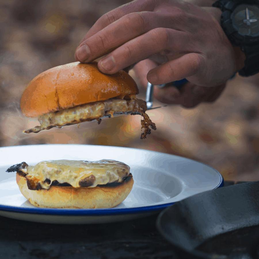 Wild venison, Smash burgers, burger, cheese, cheese burger, brioche