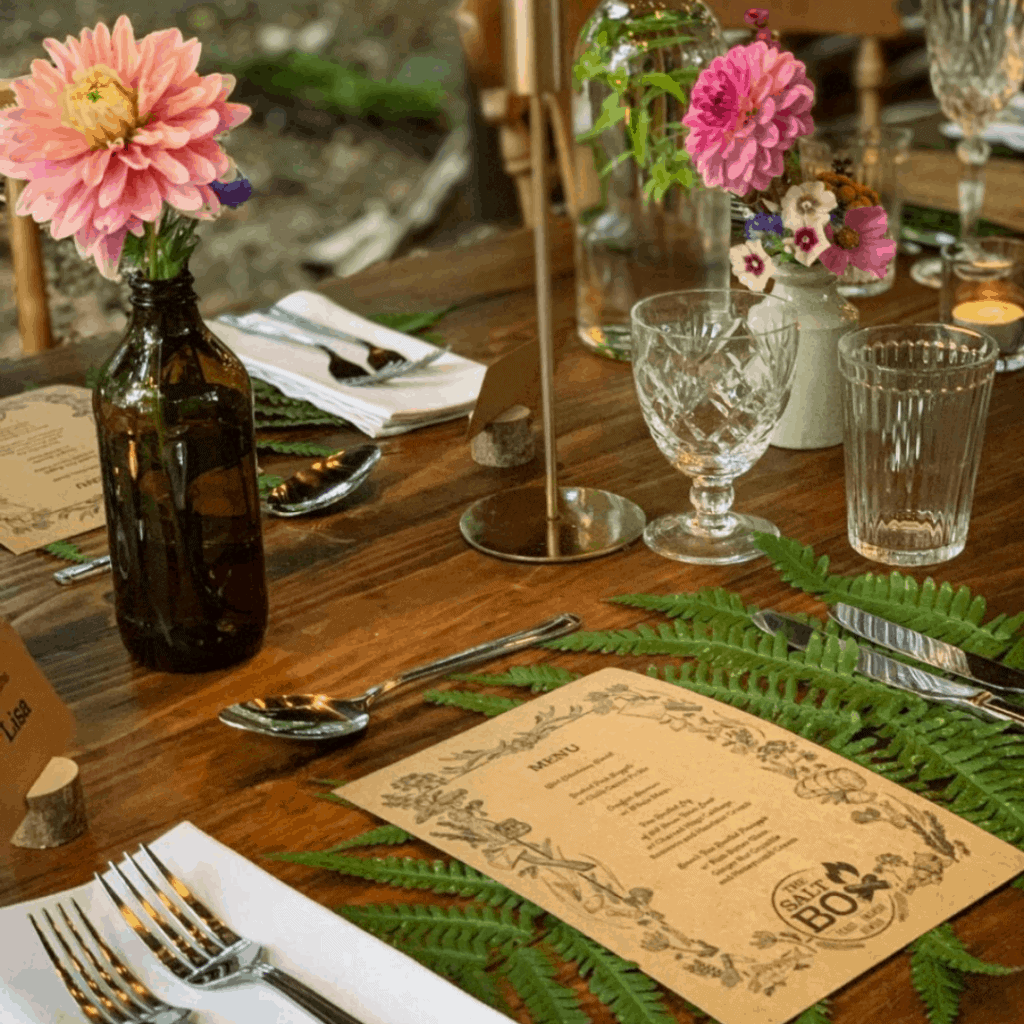 the salt box woodland feasts